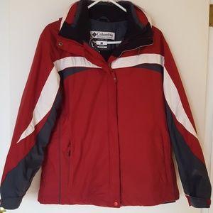 Columbia 2 in 1 winter Ski Jacket in Large